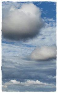 Clouds dancing in the sky